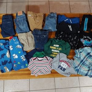 Infant boys bundle size 12months